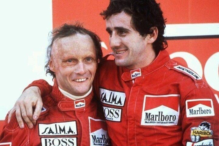 Niki Lauda - Alain Prost